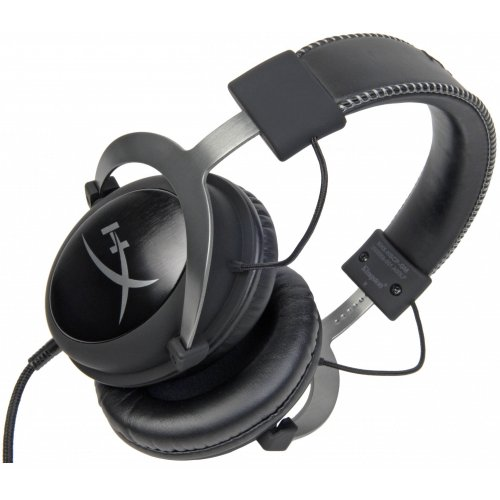Фото Kingston HyperX Cloud II Gaming Headset Gun Metal (KHX-HSCP-GM)
