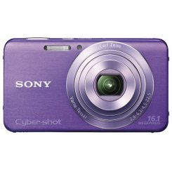 Фото Цифровые фотоаппараты Sony Cyber-shot DSC-W630 Violet