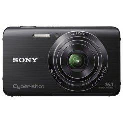 Фото Цифровые фотоаппараты Sony Cyber-shot DSC-W650 Black