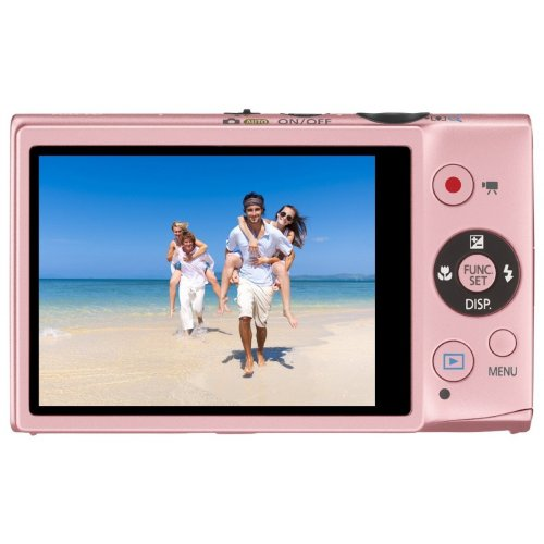 Фото Цифровые фотоаппараты Canon IXUS 125 HS Pink