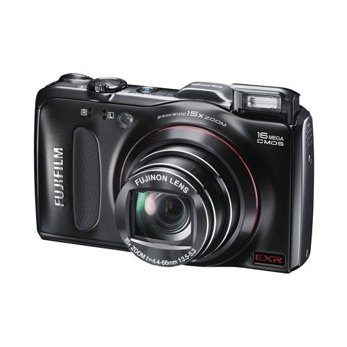Фото Цифровые фотоаппараты Fujifilm FinePix F550EXR Black