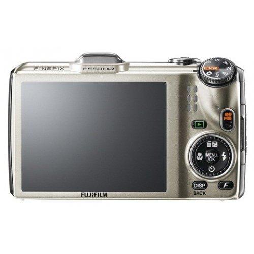 Фото Цифровые фотоаппараты Fujifilm FinePix F550EXR Gold