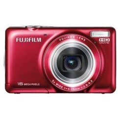 Фото Цифровые фотоаппараты Fujifilm FinePix JX420 Red