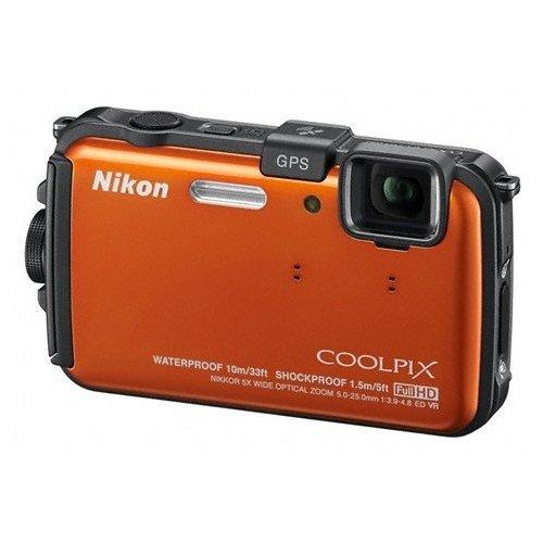 Фото Цифровые фотоаппараты Nikon Coolpix AW100 Orange