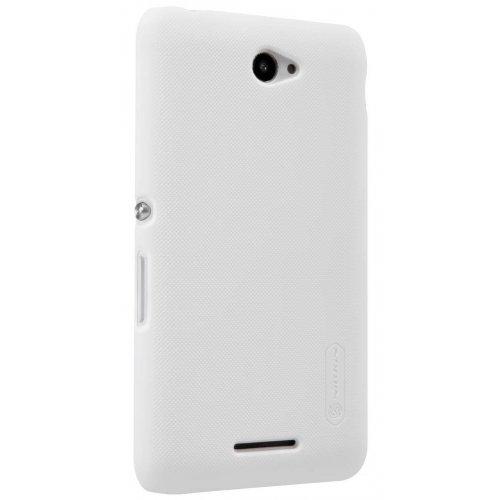 Фото Чехол Чехол Nillkin Frosted Shield для Sony Xperia E4 White
