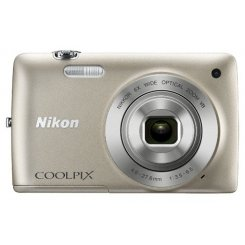 Фото Цифровые фотоаппараты Nikon Coolpix S4300 Silver