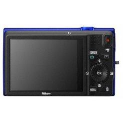 Фото Цифровые фотоаппараты Nikon Coolpix S6200 Blue