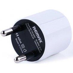 Фото Сетевое зарядное устройство Remax 1A White