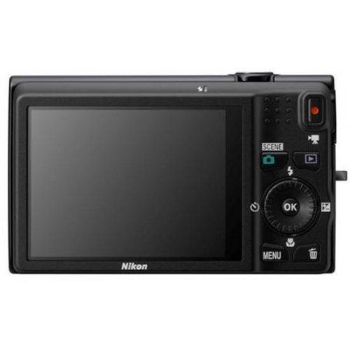 Фото Цифровые фотоаппараты Nikon Coolpix S6300 Black