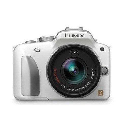 Фото Цифровые фотоаппараты Panasonic Lumix DMC-G3 14-42 Kit White
