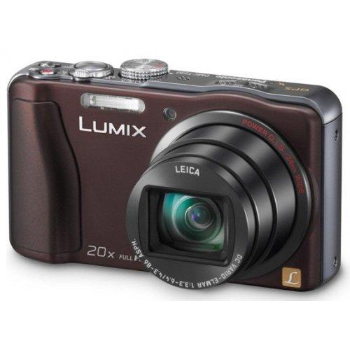 Фото Цифровые фотоаппараты Panasonic Lumix DMC-TZ30 Brown