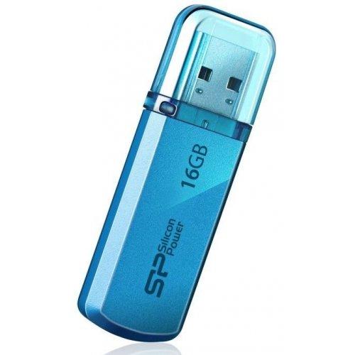 Фото Накопитель Silicon Power Helios 101 16GB Blue (SP016GBUF2101V1B)
