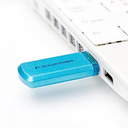 Фото Накопитель Silicon Power Helios 101 32GB Blue (SP032GBUF2101V1B)