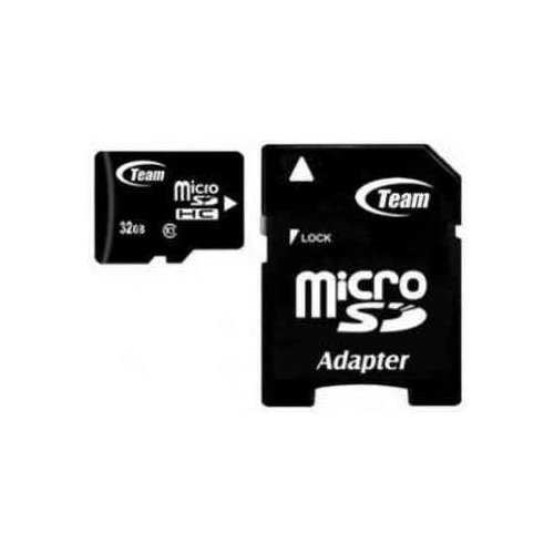 Фото Карта памяти Team microSDHC 32GB Class 10 (с адаптером) (TUSDH32GCL1003)