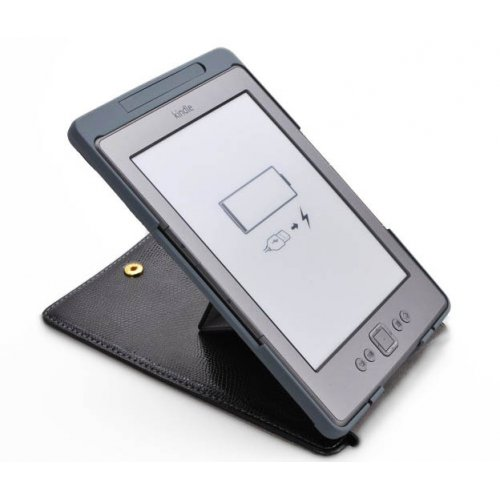 Фото Чехол Обложка MyBook Lizard с подсветкой для Kindle 5 Black