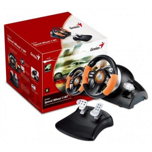 Фото Игровой манипулятор Genius Speed Wheel 3 MT (31620026100)
