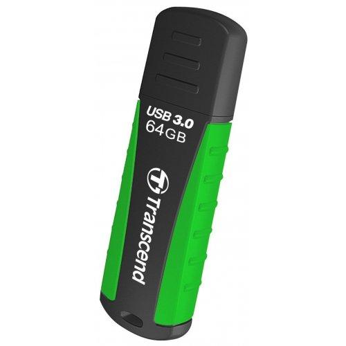 Фото Накопитель Transcend JetFlash 810 USB 3.0 64GB Green (TS64GJF810)