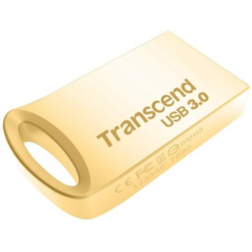 Фото Накопитель Transcend JetFlash 710 USB 3.0 64GB Gold (TS64GJF710G)