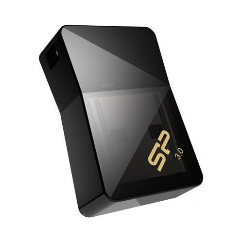 Фото Накопитель Silicon Power Jewel J08 USB 3.0 16GB Black (SP016GBUF3J08V1K)