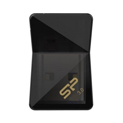 Фото Накопитель Silicon Power Jewel J08 USB 3.0 32GB Black (SP032GBUF3J08V1K)