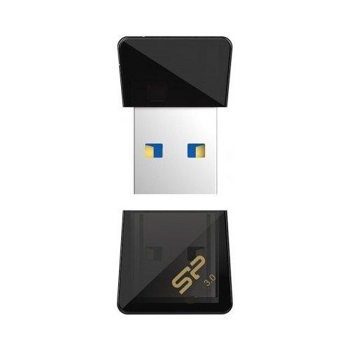 Фото Накопитель Silicon Power Jewel J08 USB 3.0 64GB Black (SP064GBUF3J08V1K)