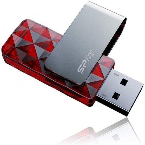 Фото Накопитель Silicon Power Ultima U30 8GB Red (SP008GBUF2U30V1R)