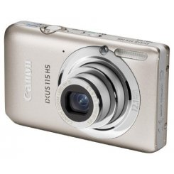 Фото Цифровые фотоаппараты Canon IXUS 115 HS Silver
