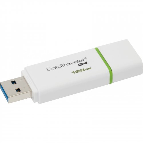 Фото Накопитель Kingston DataTraveler G4 USB 3.0 128GB Green (DTIG4/128GB)