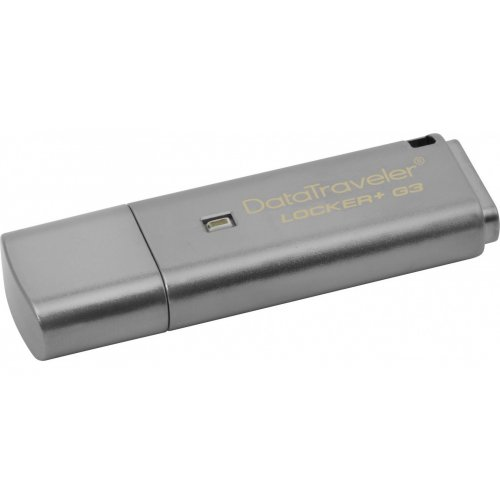 Фото Накопитель Kingston DataTraveler Locker+G3 USB 3.0 64GB Grey (DTLPG3/64GB)