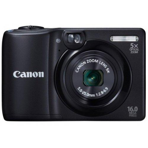 Фото Цифровые фотоаппараты Canon PowerShot A1300 Black