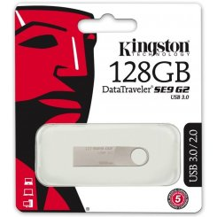 Фото Накопитель Kingston DataTraveler SE9G2 USB 3.0 128GB Silver (DTSE9G2/128GB)