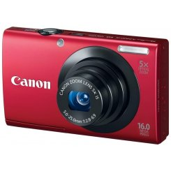 Фото Цифровые фотоаппараты Canon PowerShot A3400 IS Red