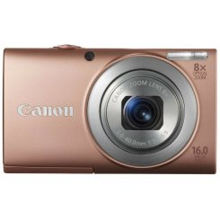 Фото Цифровые фотоаппараты Canon PowerShot A4000 IS Pink