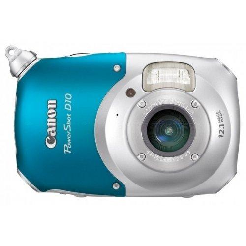 Фото Цифровые фотоаппараты Canon PowerShot D10