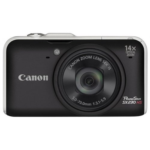 Фото Цифровые фотоаппараты Canon PowerShot SX230 HS Black