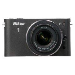 Фото Цифровые фотоаппараты Nikon 1 J1 10-30 VR Kit Black