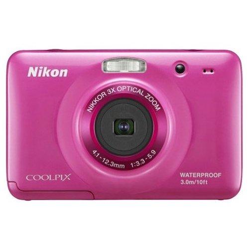 Фото Цифровые фотоаппараты Nikon Coolpix S30 Pink