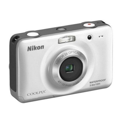 Фото Цифровые фотоаппараты Nikon Coolpix S30 White