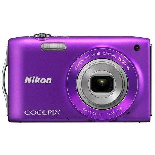 Фото Цифровые фотоаппараты Nikon Coolpix S3300 Purple