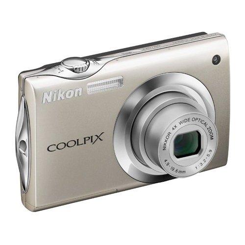 Фото Цифровые фотоаппараты Nikon Coolpix S4000 Сhampagne Silver