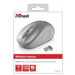 Фото Мышка Trust Primo Wireless (20785) Grey