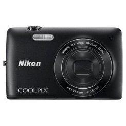 Фото Цифровые фотоаппараты Nikon Coolpix S4200 Black