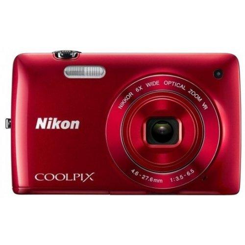 Фото Цифровые фотоаппараты Nikon Coolpix S4200 Red