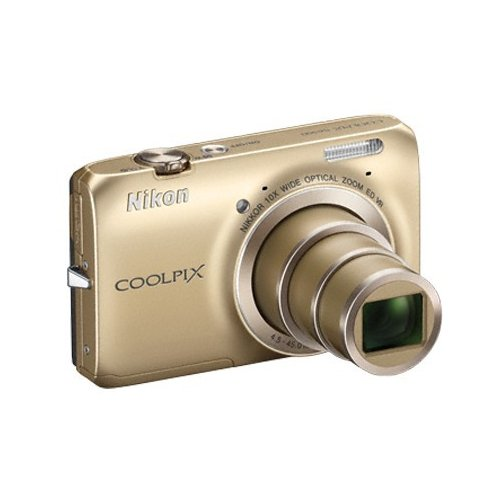 Фото Цифровые фотоаппараты Nikon Coolpix S6300 Gold