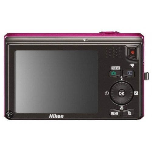 Фото Цифровые фотоаппараты Nikon Coolpix S6300 Pink
