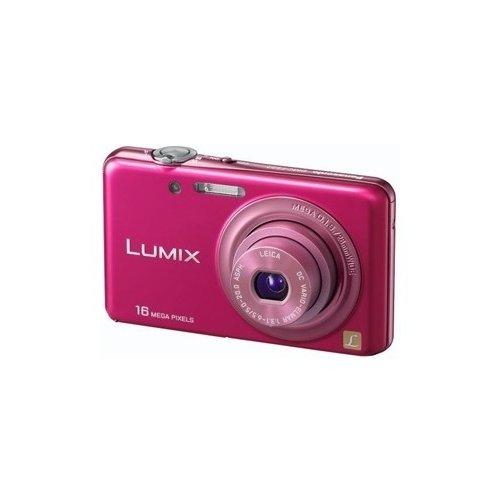 Фото Цифровые фотоаппараты Panasonic Lumix DMC-FS22 Pink