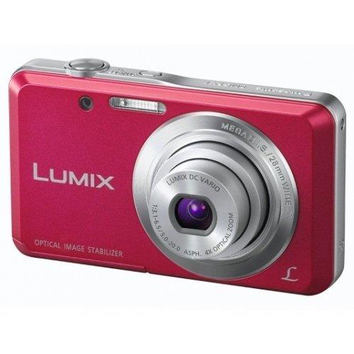 Фото Цифровые фотоаппараты Panasonic Lumix DMC-FS28 Pink