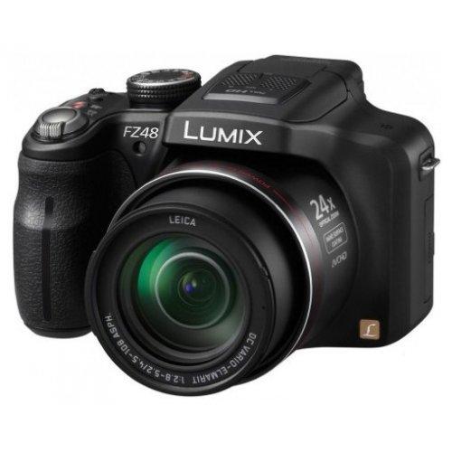 Фото Цифровые фотоаппараты Panasonic Lumix DMC-FZ48 Black