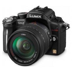 Фото Цифровые фотоаппараты Panasonic Lumix DMC-GH2H 14-140 Kit Black