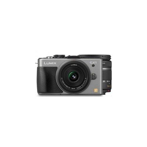 Фото Цифровые фотоаппараты Panasonic Lumix DMC-GX1K 14-42 Kit Silver